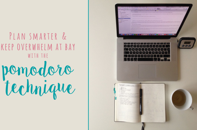 Plan smarter and keep overwhelm at bay with the pomodoro technique