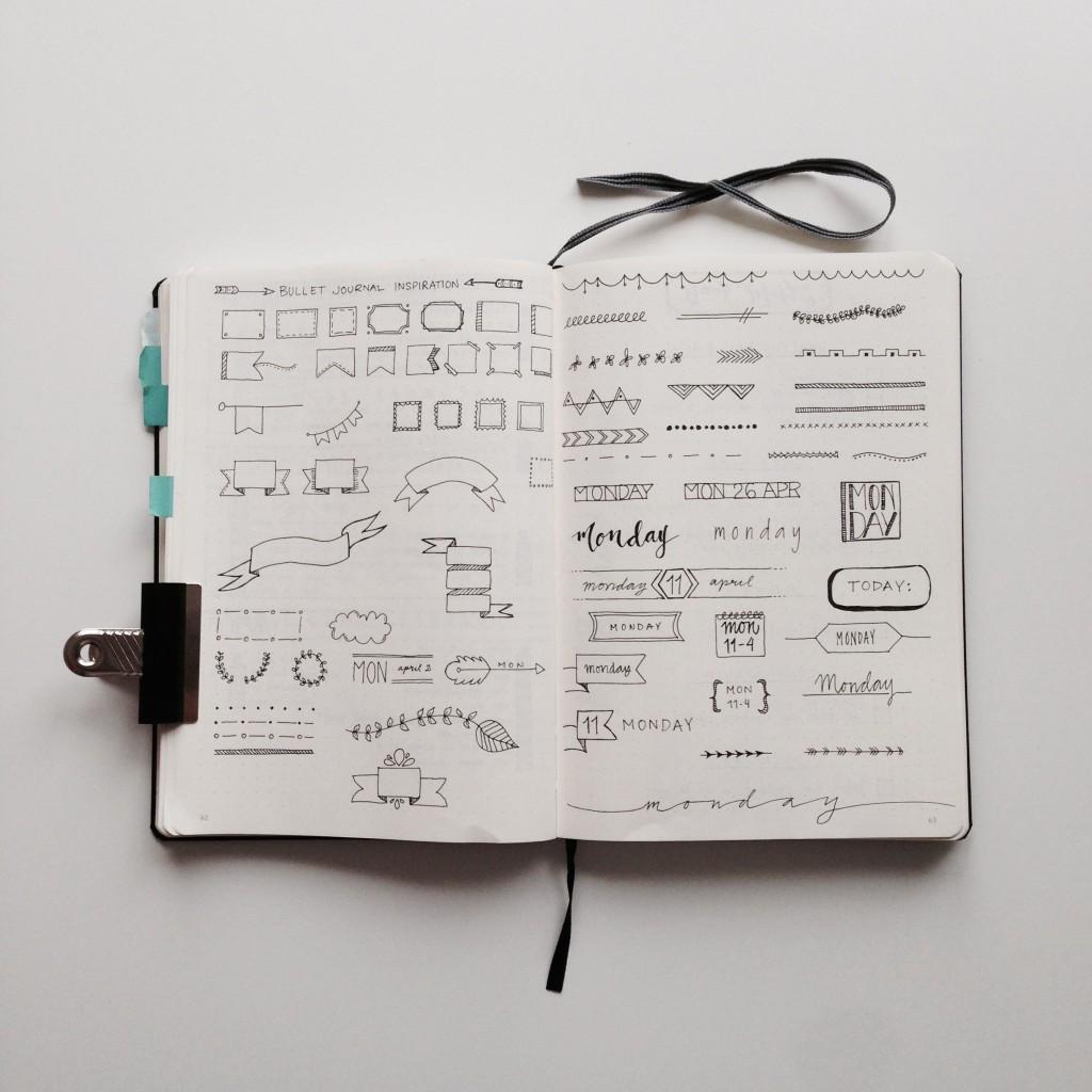 Bullet Journal Inspiration ForeverGoodLife