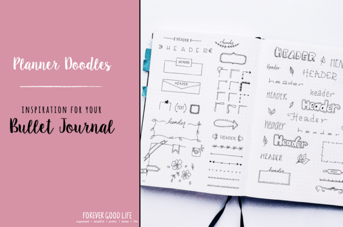 Planner Doodles – Inspiration for your Bullet Journal