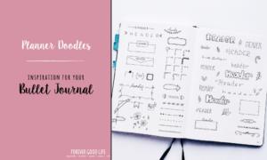 Cute Bullet Journal Planner doodles