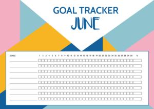 Goal Tracker - June