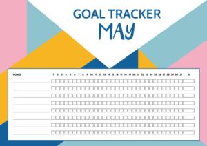 Goal Tracker May