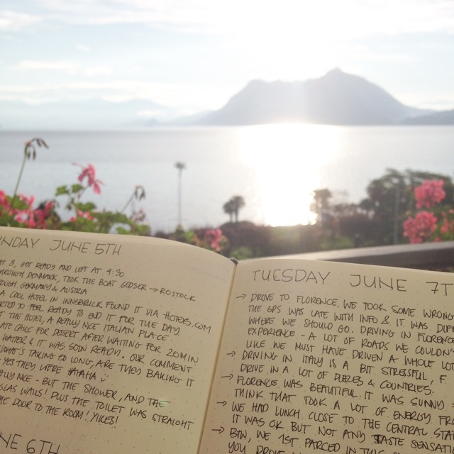 Lago Maggiore & My Bullet Journal