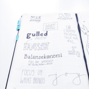 Bullet Journal Memories inspiration page