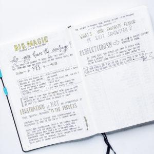 Bujo Book Notes