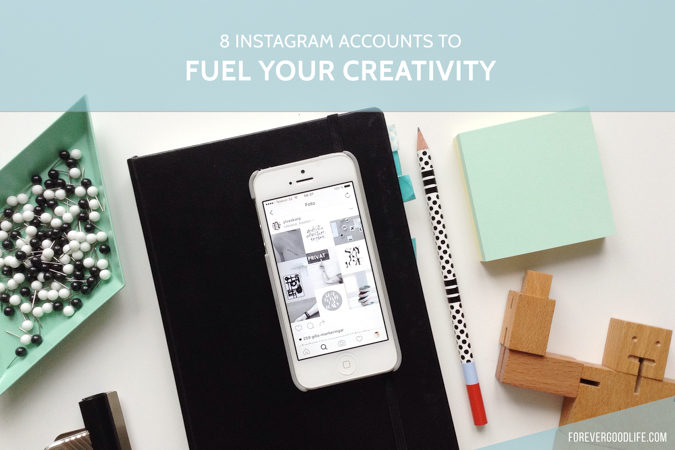 8 instagram accounts to fuel your creativity