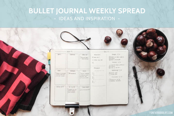 Bullet Journal Weekly Spread Layout Inspiration overload