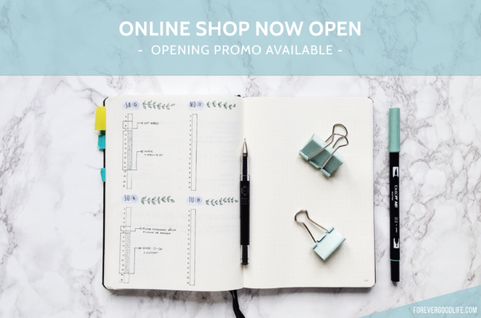 Online Shop Now Open – Opening Promotion Available