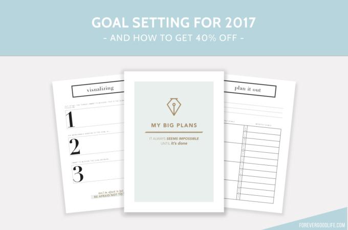 Goal Setting for 2017