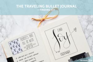 The Traveling Bullet Journal - My Spread -ForeverGoodLife