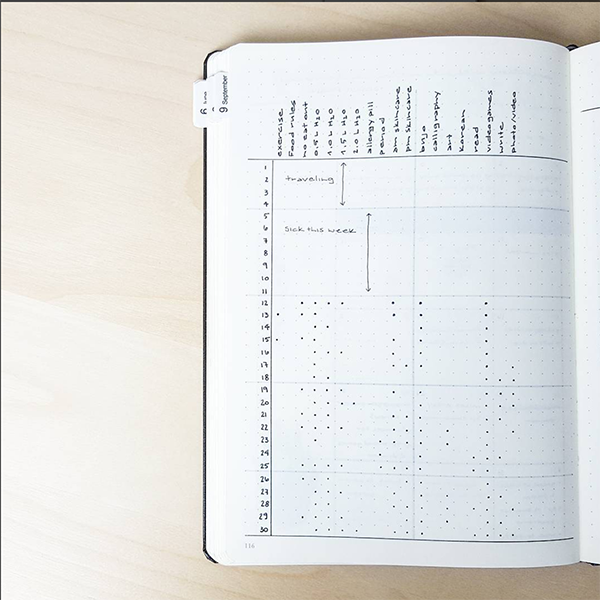 8 Amazing Minimalistic Bullet Journal Layouts - PlanAnotherDay - ForeverGoodLife