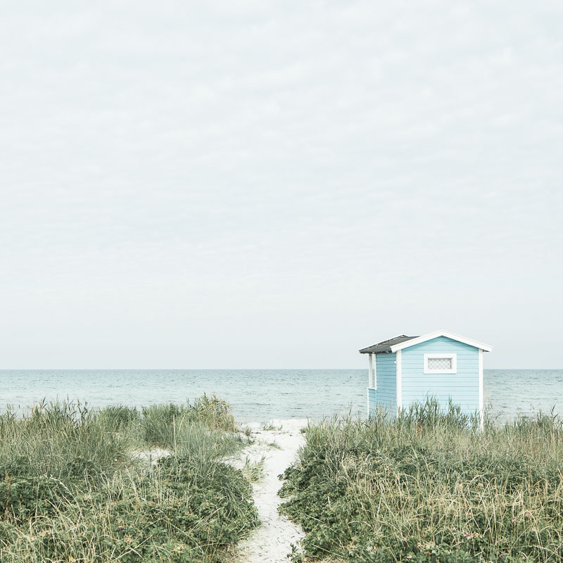 Swedish beach scenery - MadeByColor on Etsy - By ForeverGoodLife