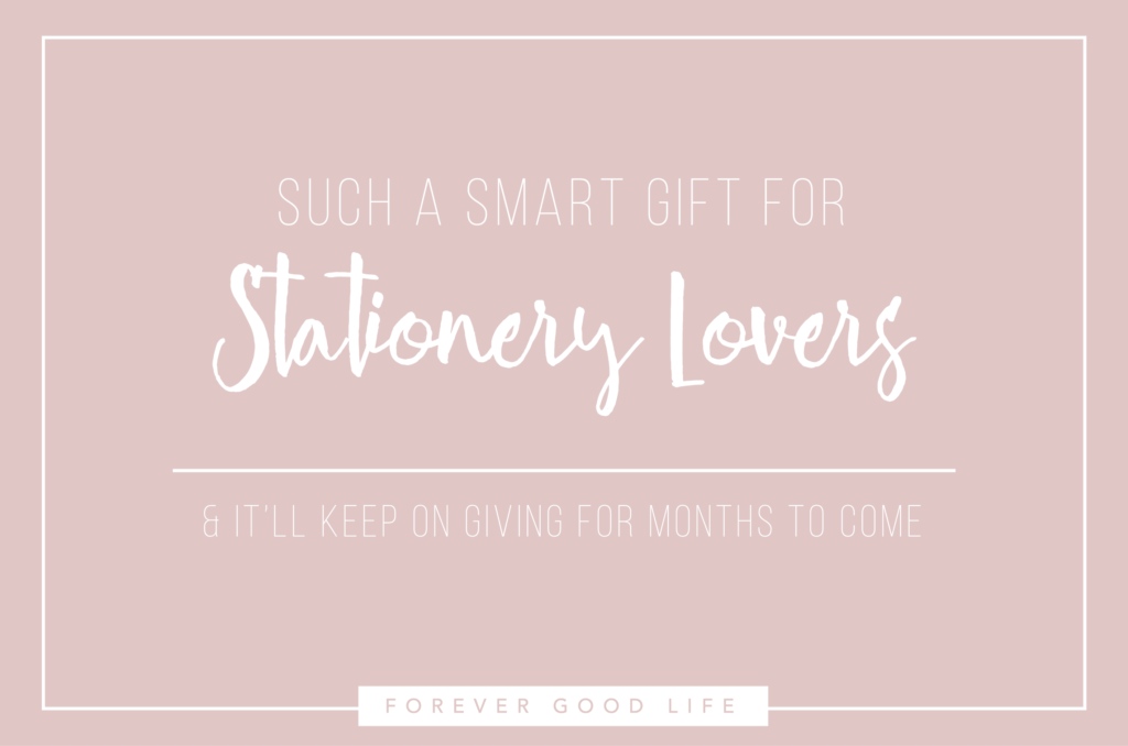 Smart Gift For Stationery Lovers - By ForeverGoodLife