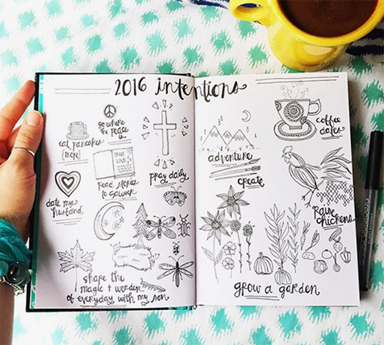 Bullet Journal And The New Year - Alisa Burke - By ForeverGoodLife