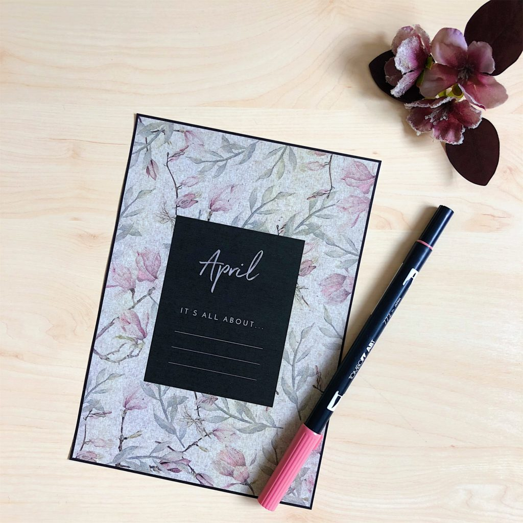 Free Printable Monthly Goal Reminder From ForeverGoodLife