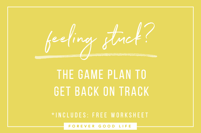 Feeling Stuck? My Game Plan might help…