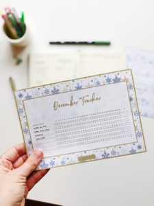 Freebie Bullet Journal Habit Tracker from ForeverGoodLife
