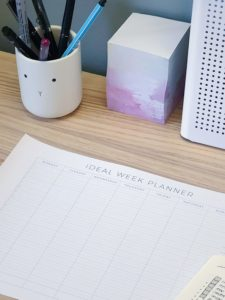 The Ideal Week Planner printable from ForeverGoodLife
