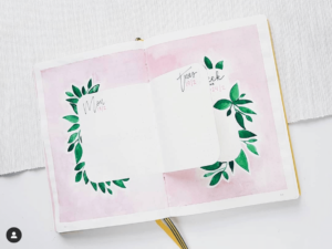 18 dutch door ideas for your Bullet Journal - to see all go to ForeverGoodLife.com - this one is by jordsbybullet