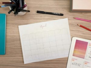 Free Monthly Log Printable from ForeverGoodLife